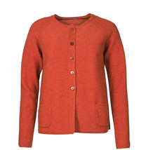 MANSTED CARDIGAN, KODA RUST