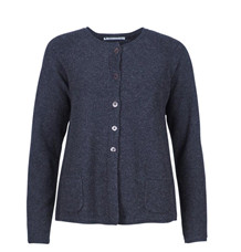 MANSTED CARDIGAN, KODA DARK GRÅ