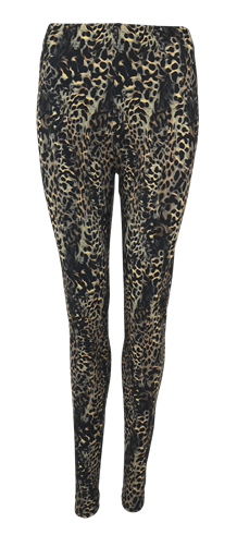 BLACK COLOUR LEGGINS, MINA LEO ARMY