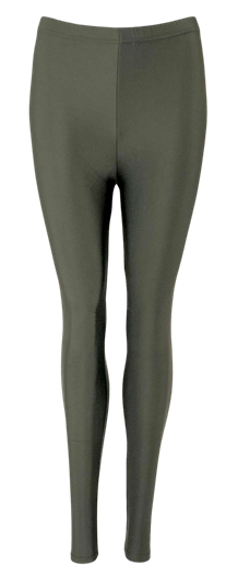 BLACK COLOUR LEGGINS, GAYA GLOSSY ARMY