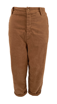 BLACK COLOUR BUKS, BLAIR BAGGY DARK CAMEL