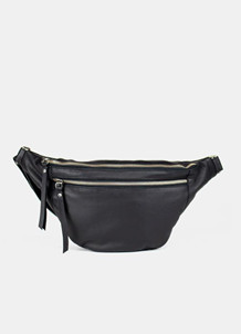 RE DESIGNED BUMBAG, FAUST BLACK