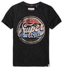 SUPERDRY T-SHIRT, ORIGINAL SODA GRÅ