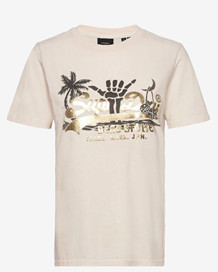 SUPERDRY T-SHIRT. W1010510A CREME