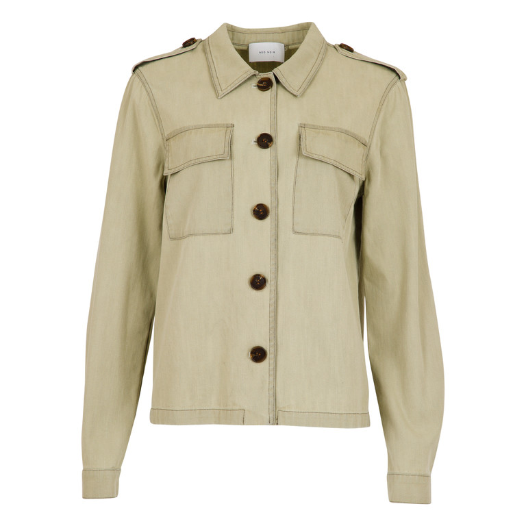 6667a9f3 Neo Noir jakke, Gira lys army - Køb jakken hos byTippe.dk >>