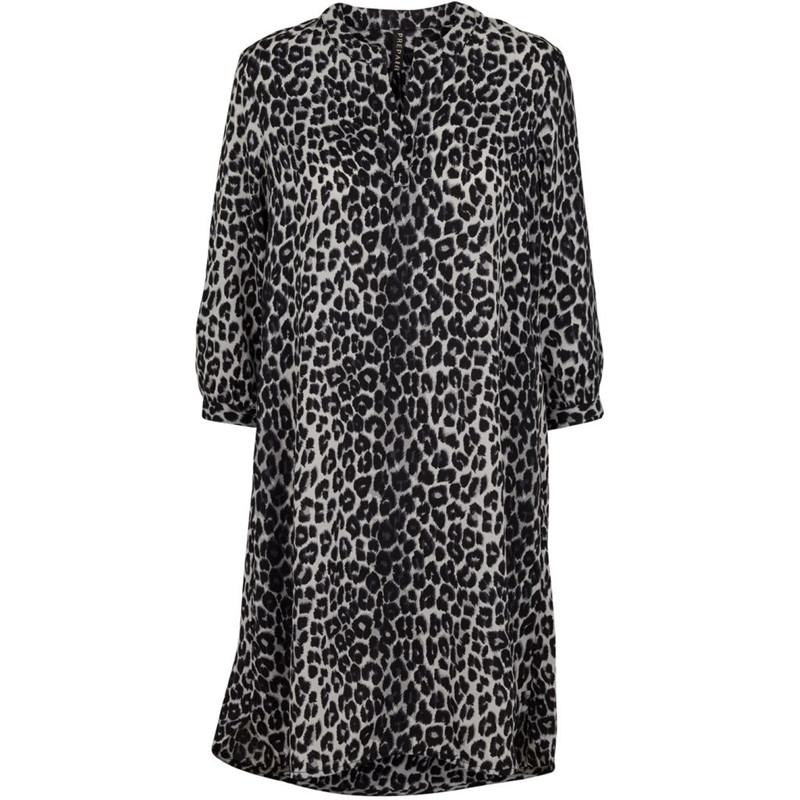 da2892d7 Prepair kjole, Vibse blå leopard - Flere kjoler hos byTippe.dk her >>