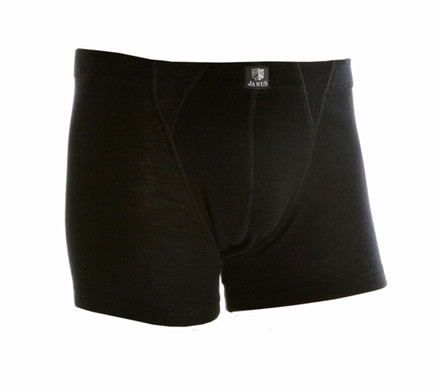 Janus Black Wool Shorts Black