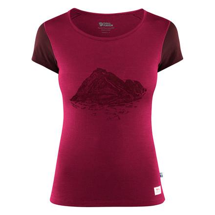 Fjällräven Keb Wool T-Shirt Print Women