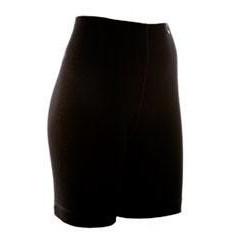 Janus Black Wool Shorts Dame