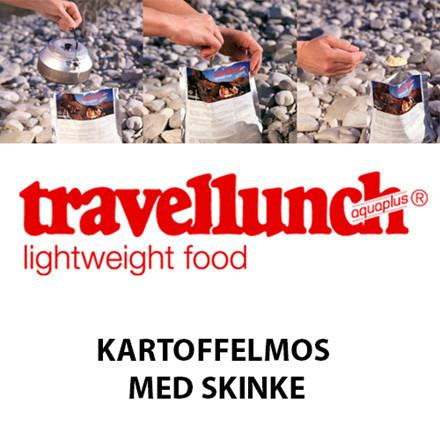 Travellunch Kartoffelmos m. Skinke og porre
