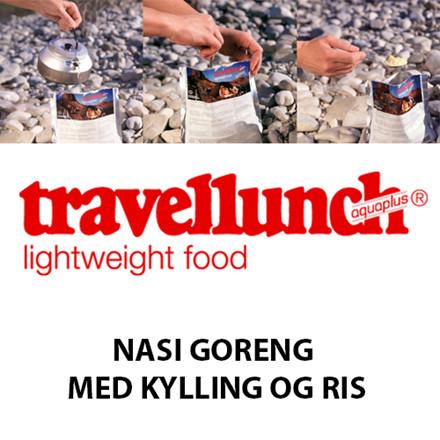 Travellunch Nasi Goreng m. Kylling og Ris