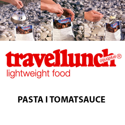 Travellunch Pasta i Tomat Sauce