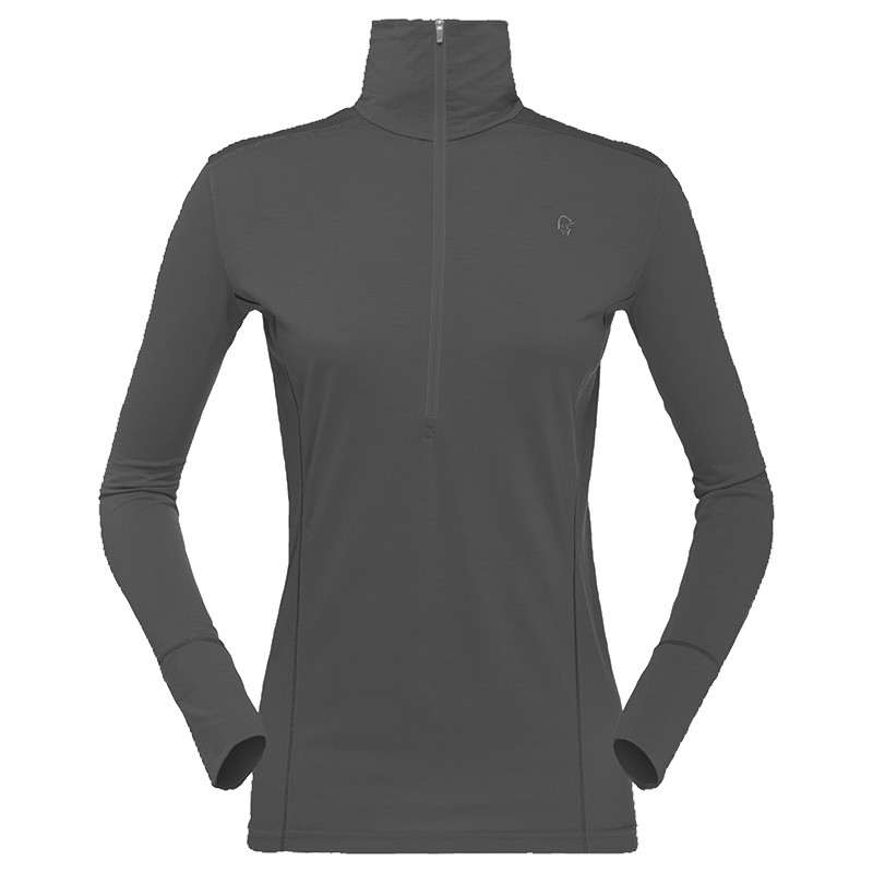 Norrøna Baselayer Wool Zip Neck Women's