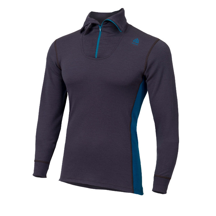 Aclima Warmwool Polo Zip Men