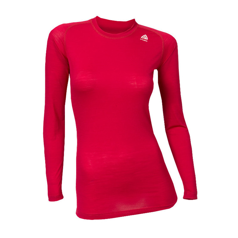 Aclima Lightwool Crew Neck Women - Udsalg