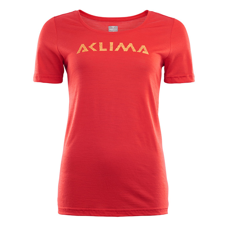 Aclima Lightwool T-shirt LOGO Women's