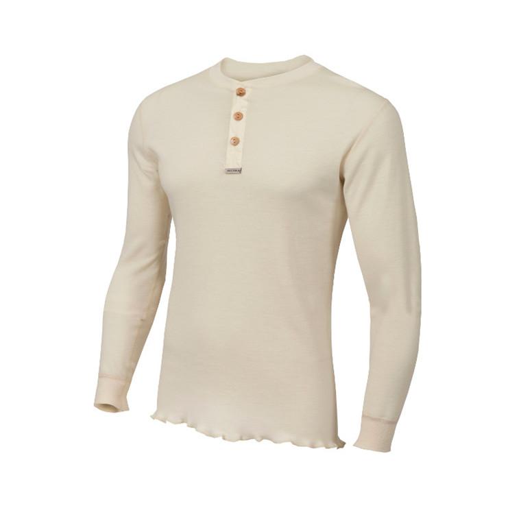 Aclima Warmwool Granddad Shirt Men  - Udsalg