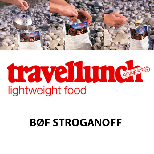 Travellunch Bøf Stroganoff