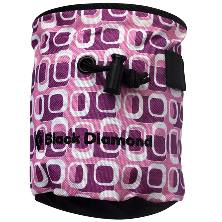 Black Diamond Kalk Bag Print