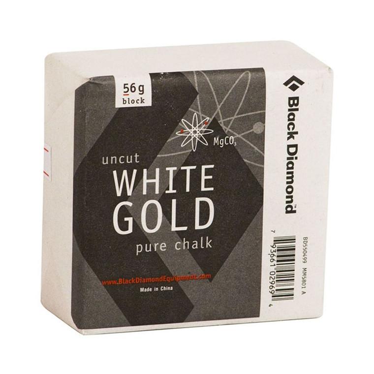 Black Diamond Solid White Gold - Block
