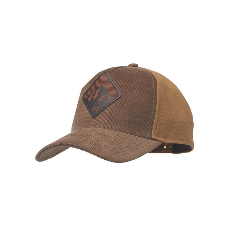 Buff Snapback Cap