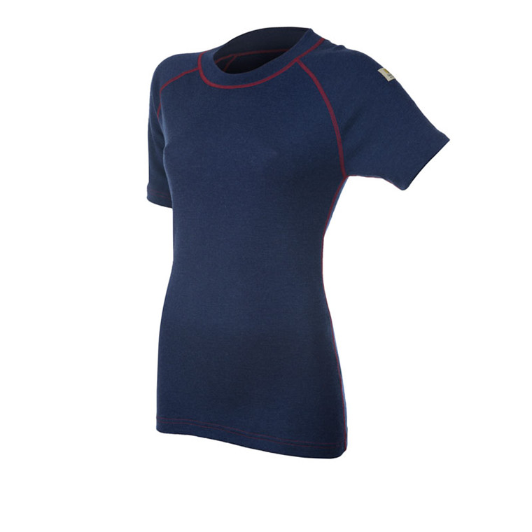 Janus Design Wool T-shirt Womens