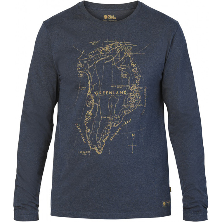 Fjällräven Greenland Printed Long Sleeve Men's
