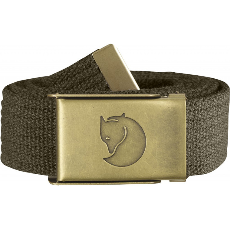 Fjällräven Canvas Brass Belt 3 cm