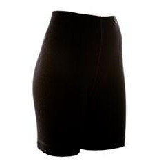 Janus Black Wool Shorts Dame