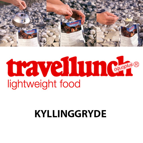 Travellunch Kyllingegryde - Laktosefri