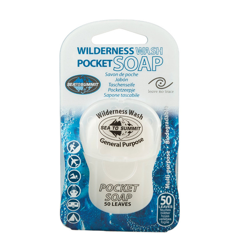 Sea to Summit Wilderness Wash Pocket Soap 50 Leaf