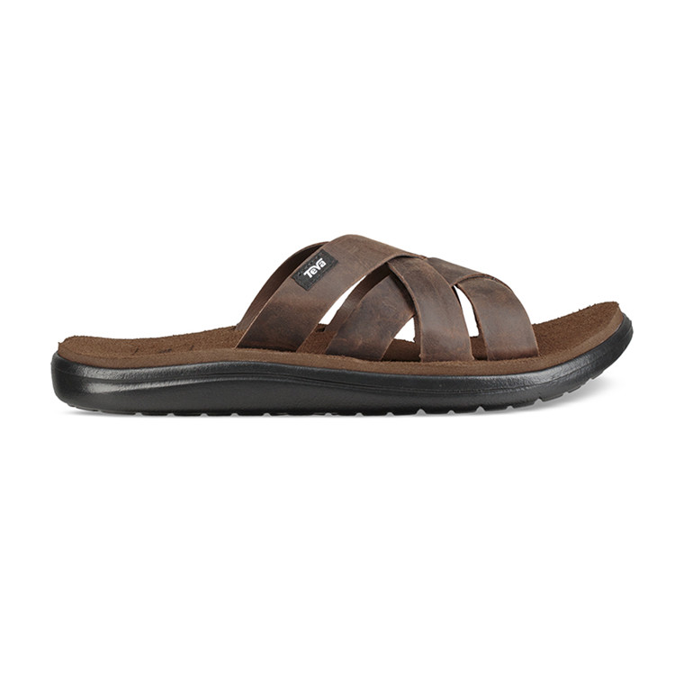 Teva Voya Slide Leather Men's