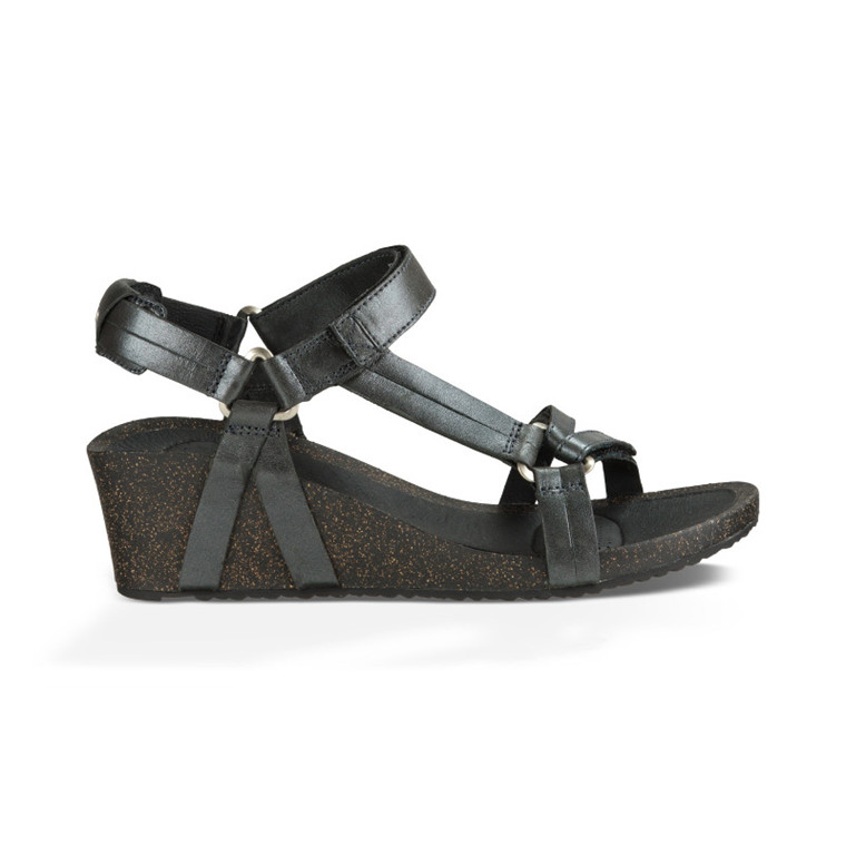 Teva Ysidro Universal Wedge Metallic Women