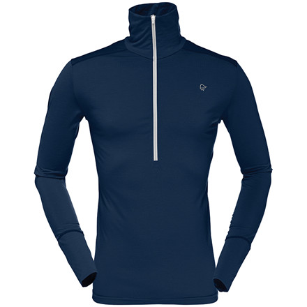 Norrøna Baselayer Wool Zip Neck Men's