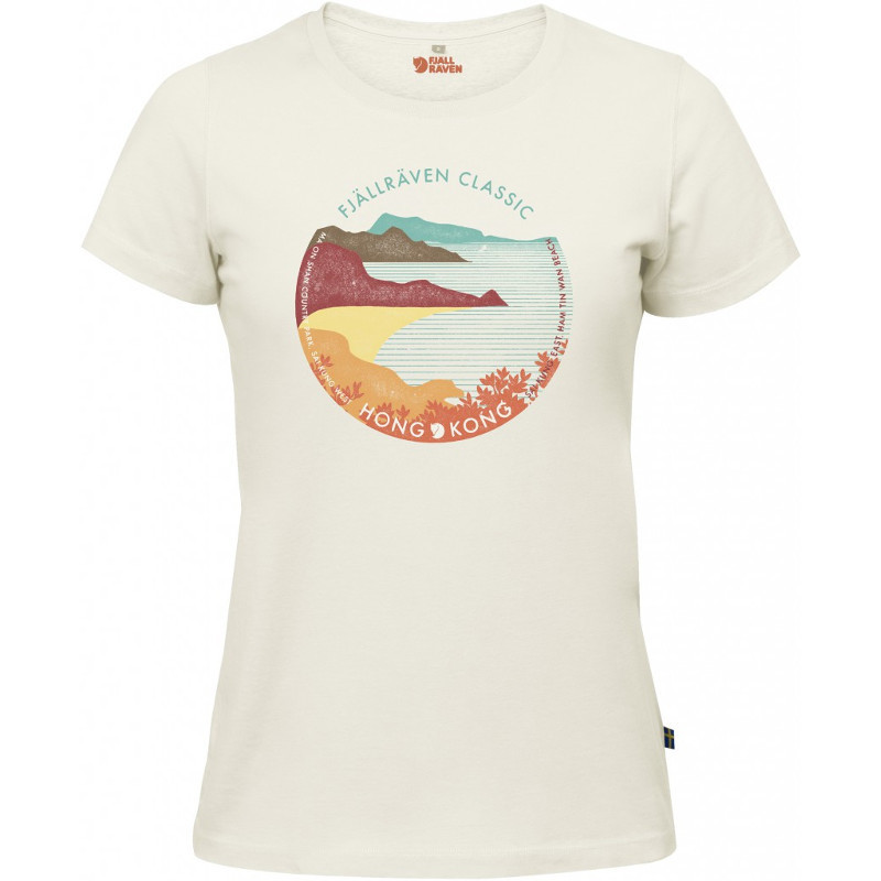 Fjällräven Abisko Trail T Shirt Printed LS Women's