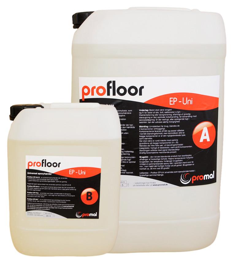 ProFloor EP-Uni, klar epoxybinder, - sæt