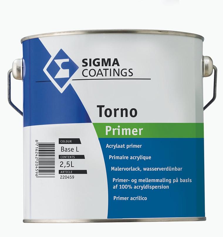 Sigma Torno Primer 2,5 ltr, hæftegrunder & mellemmaling