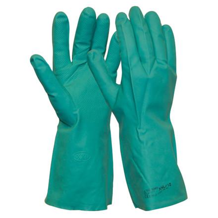 Handske - nitril - vælg størrelse