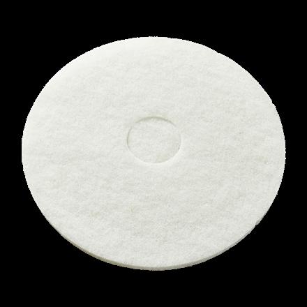 Hvid Gulvpad Ø 410 mm
