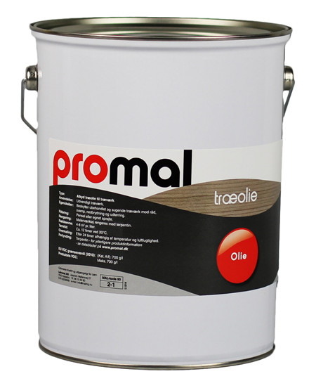 Promal Træolie 40 - Wood oil 40, 5 ltr
