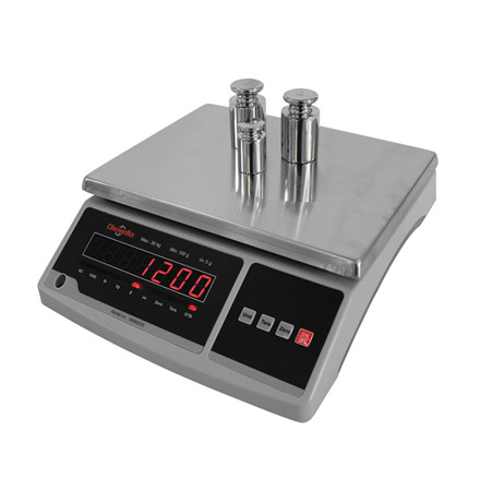 Packing scale for weighing up to 30 kg