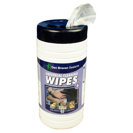 Cleaning Wipes - Renseservietter, 80 stk