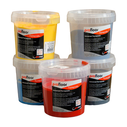 ProFloor Farvepasta - pigment paste for epoxy
