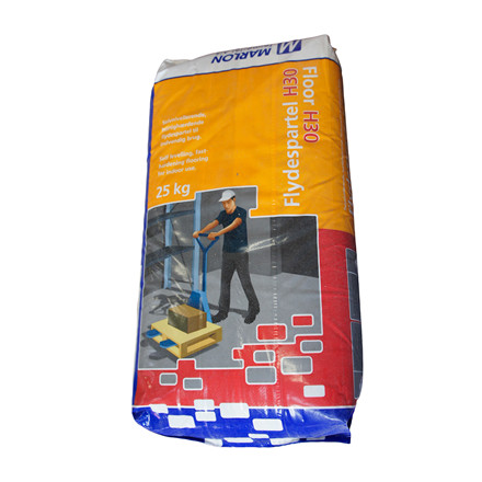 Flydemørtel - self-leveling floor screed H-30