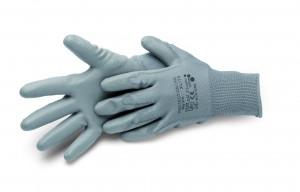 Nylonhandske - PU coated - vælg størrelse