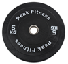 Peak Fitness Bumper Plate 5 kg