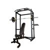 Powertec Power Rack 128 kg. træningssæt m. Bumper Plates