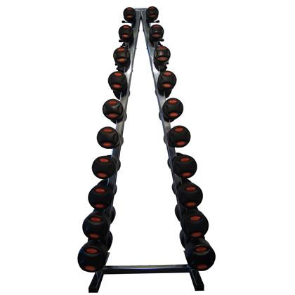 Peak Fitness 1-10 kg inkl. Chrome Stativ
