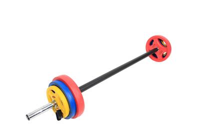 Peak Fitness Pump-sæt (18 kg.)