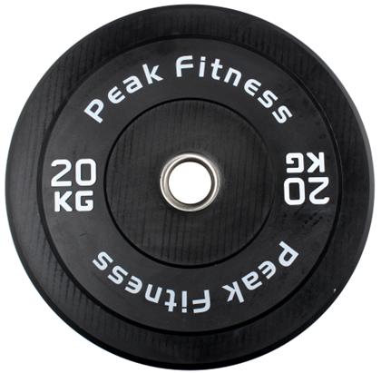 Peak Fitness Bumper Plate 20 kg